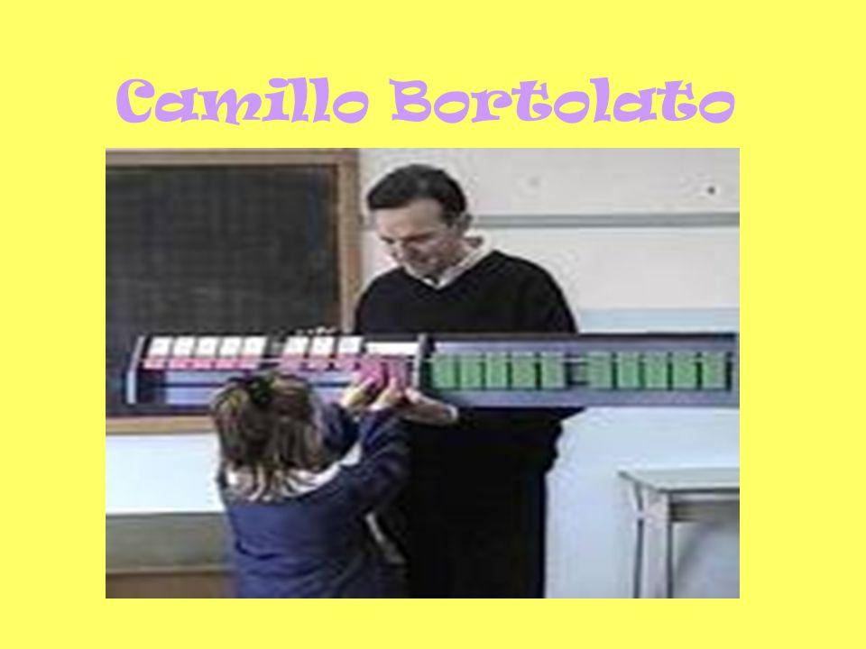 Camillo Bortolato, autore del nostro libro di testo Contare a mente , dopo un analisi della rappresentazione dei numeri nella mente dei bambini, propone di favorire il calcolo mentale usando la rappresentazione analogico- intuitiva , sostiene cioè l'importanza dell'ordine nella rappresentazione dei numeri.