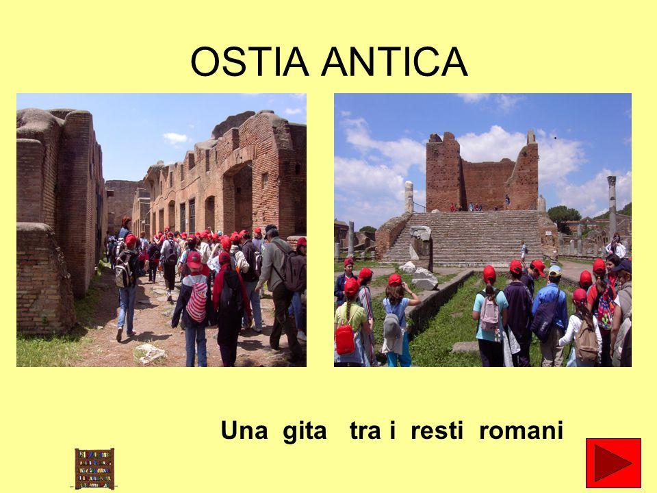 OSTIA ANTICA Una gita tra i resti romani