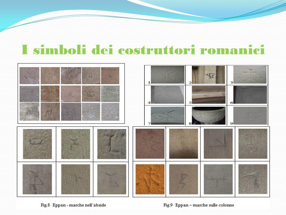 I simboli dei costruttori romanici