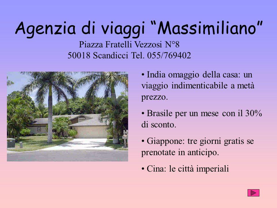 Agenzia di viaggi Massimiliano India omaggio della casa: un viaggio indimenticabile a metà prezzo.