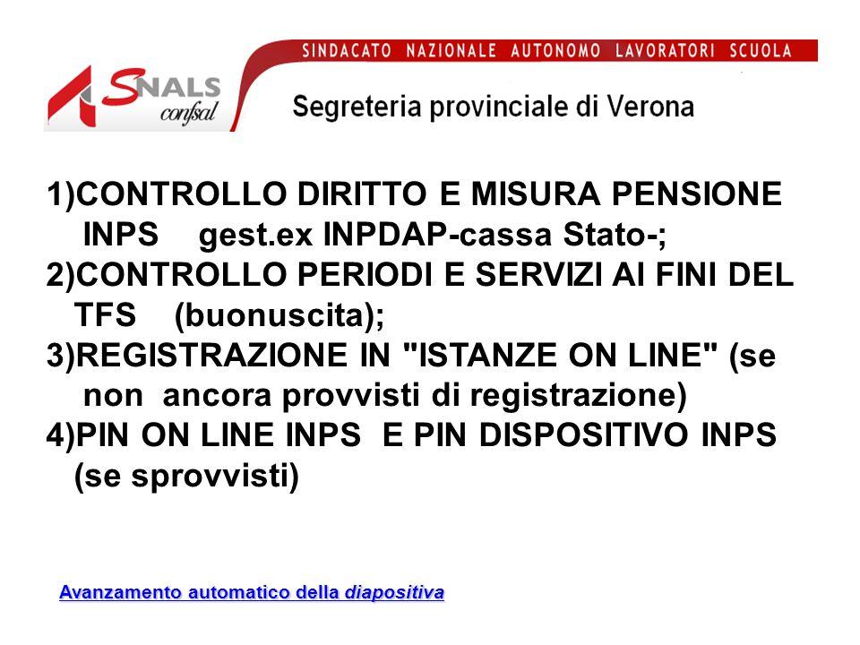 Si consiglia di prenotare appuntamento presso la sede SNALS di Verona o Legnago per…………..