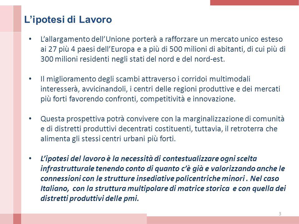 14 Lo stato dell'arte La dotazione infrastrutturale italiana è datata.
