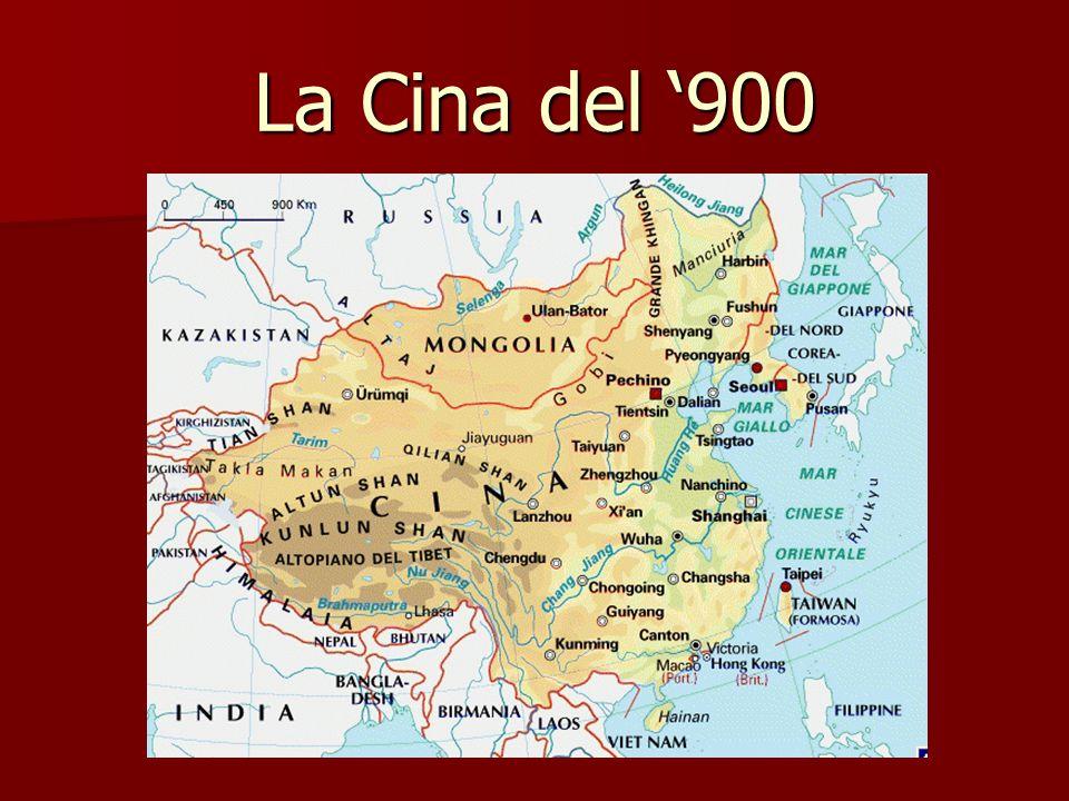 Fine '800: crisi impero cinese 1894 – 95 guerra contro il Giappone 1894 – 95 guerra contro il Giappone basi commerciali occidentali (guerra dell'oppio) basi commerciali occidentali (guerra dell'oppio) mire espansionistiche giapponesi (Manciuria) mire espansionistiche giapponesi (Manciuria)