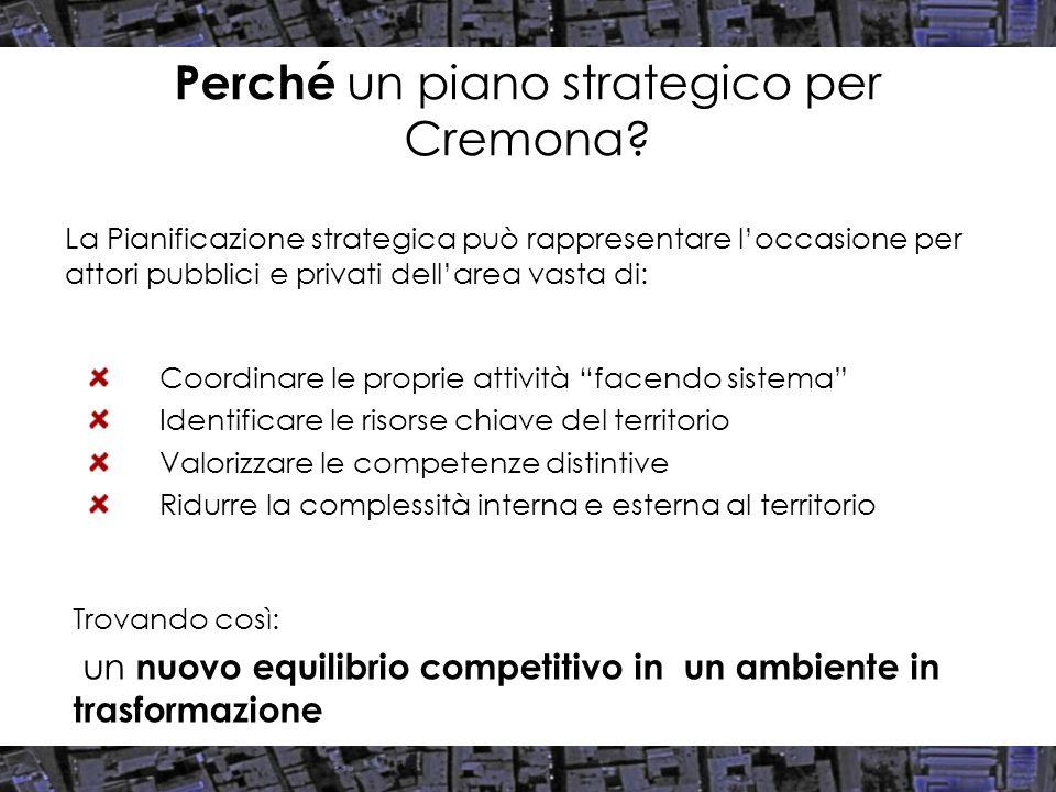 Potenziale di sviluppo Fonte: elaborazione Censis su dati Comune di Cremona, 2007 Valutazione degli impatti sul sistema socio-economico cremonese, val.%