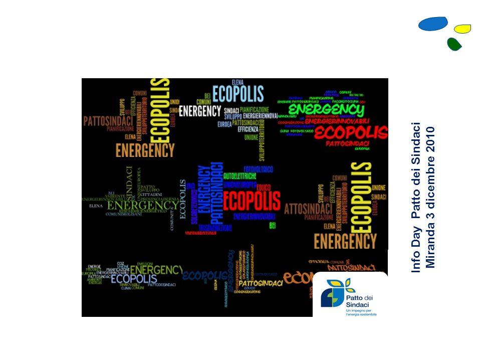 ECOPOLIS: SINERGIE PER UN FUTURO ECO-SOSTENIBILE Il ruolo dei Sindaci e dei cittadini nell'attività di Pianificazione Energetica Territoriale Energency Sas, in collaborazione con i Comuni Molisani della Rete Ecopolis , organizza una serie di incontri itineranti per sensibilizzare le comunità e le amministrazioni sul tema della Pianificazione Energetica Territoriale 18 dicembre 2010 Ore 15.30 Per Info: 0865 940131 comune.sanpietroavellana.is.it S.