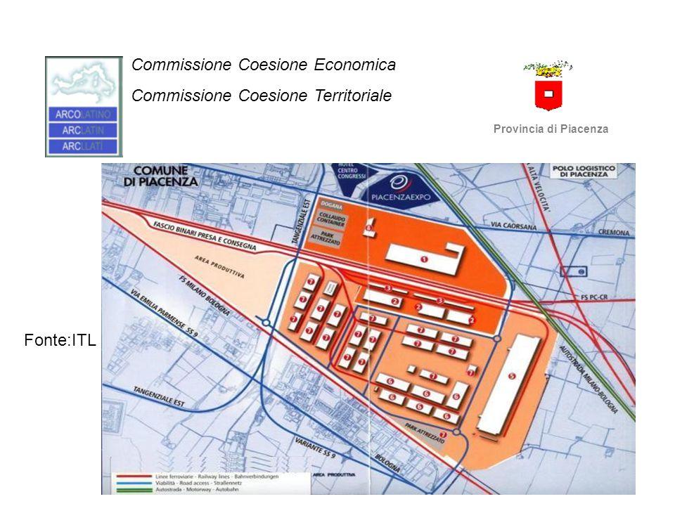 Commissione Coesione Economica Commissione Coesione Territoriale Provincia di Piacenza FASE 1.
