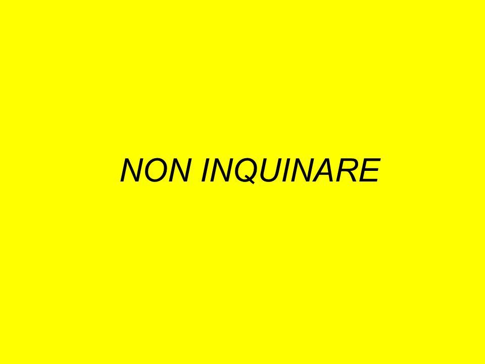 NON INQUINARE