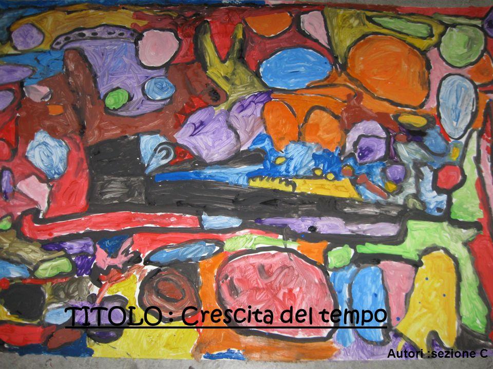 TITOLO : Crescita del tempo Autori :sezione C