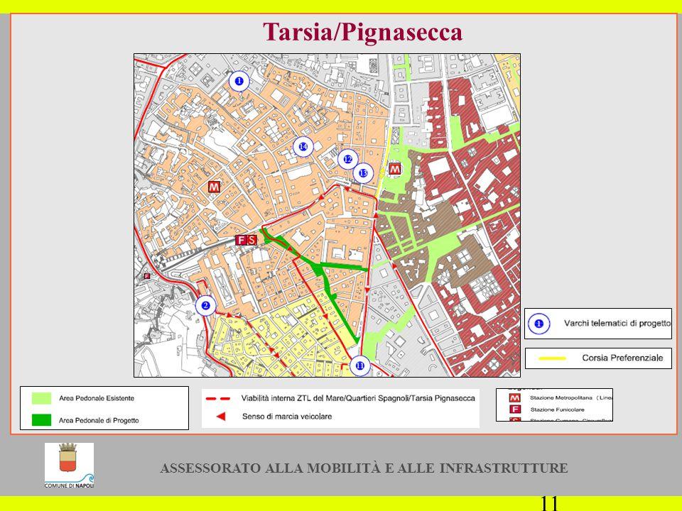 ASSESSORATO ALLA MOBILITÀ E ALLE INFRASTRUTTURE 11 Tarsia/Pignasecca