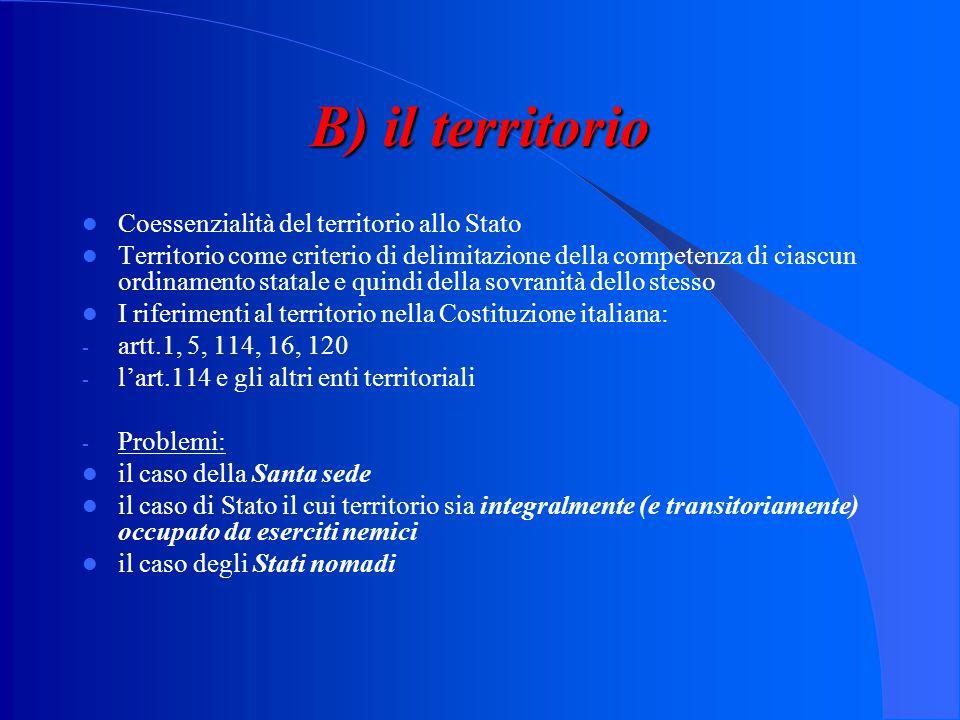 Segue: 3)sovranità popolare ed organizzazioni internazionali: l'integrazione europea La cessione delle quote di sovranità alla Comunità europea ed all