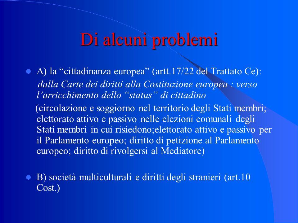 Legge n. 91 del 1992 Modi di acquisto della cittadinanza:  Per nascita da genitori italiani (ius sanguinis)  Per nascita in territorio italiano (ius