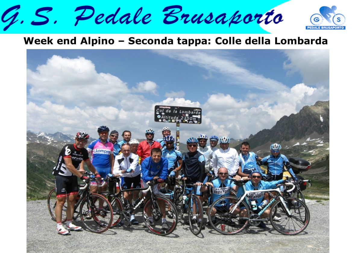 Week end Alpino – Seconda tappa: Colle della Lombarda