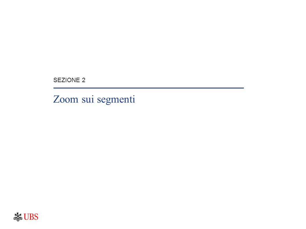 SEZIONE 2 Zoom sui segmenti