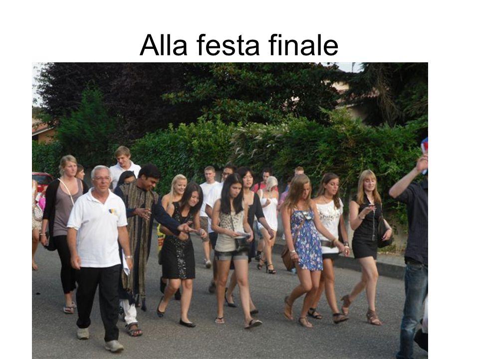 Alla festa finale