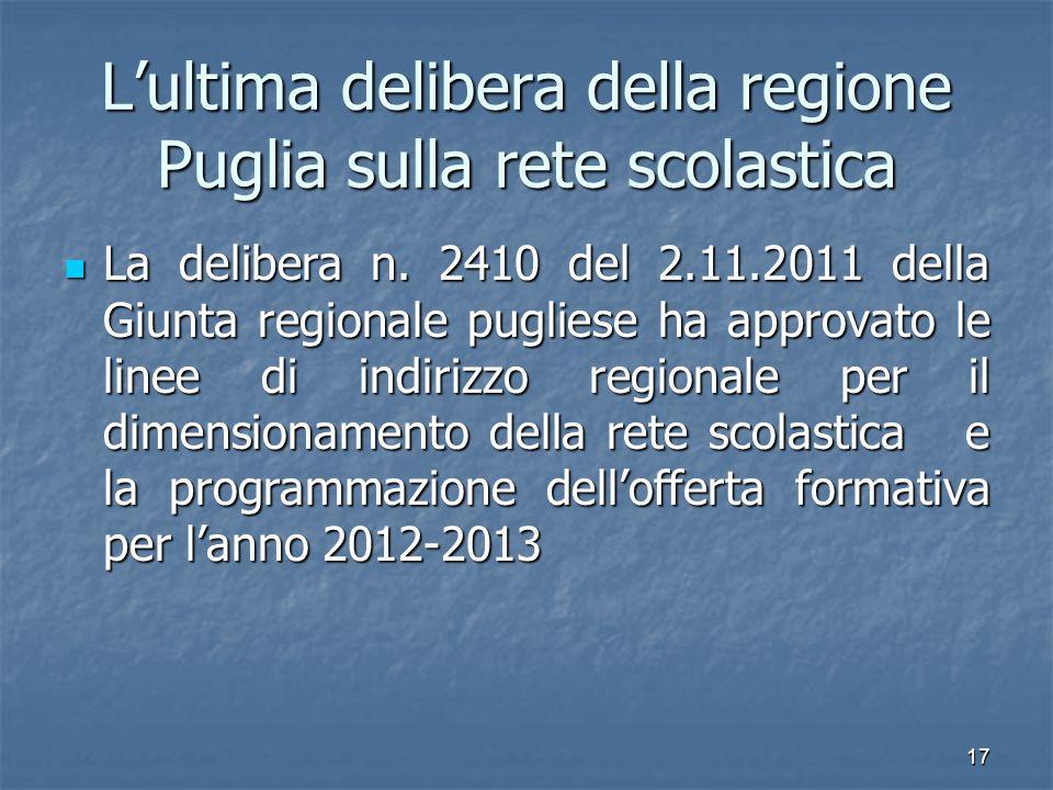 18 Il recente intervento normativo D.L.98/2011 convertito in legge 111/2011 Art.