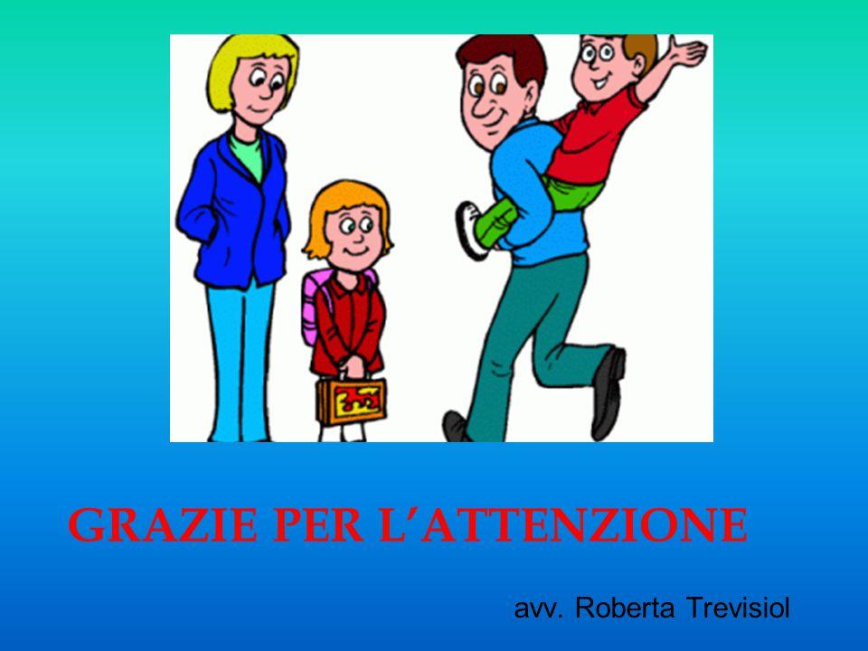 GRAZIE PER L'ATTENZIONE avv. Roberta Trevisiol