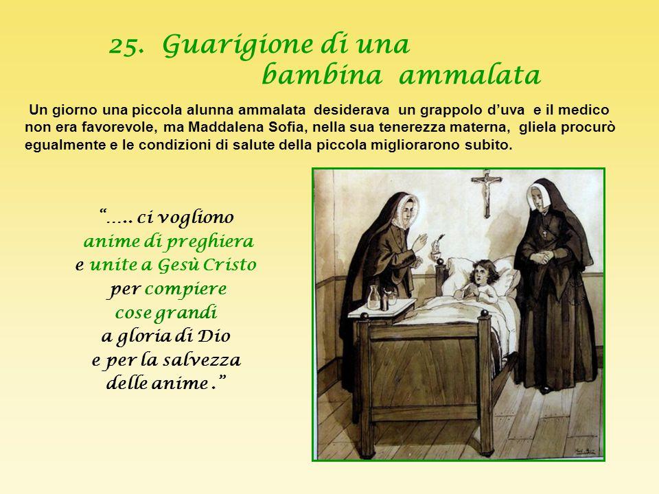 2 4. Maddalena Sofia con i gatti di Conflans La mattina, tornando nella sua camera, dopo la Messa, trovò sei gattini e la gatta madre davanti a loro,
