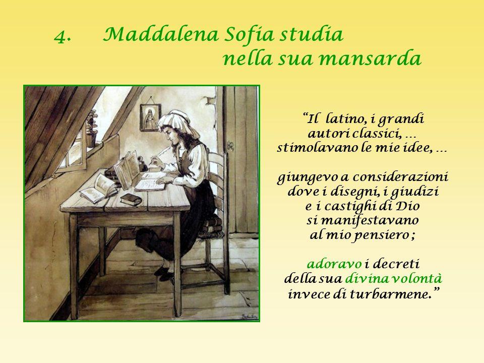 """3. L'amore filiale di Maddalena Sofia """"Amiamo Dio sopra ogni cosa e allora anche """"i piccoli ruscelli"""", cioè gli affetti legittimi, si mescoleranno com"""