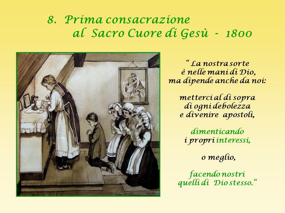 Dall' incontro del Cuore di Cristo con il cuore ardente di Maddalena Sofia è nata piccola Società del Sacro Cuore.