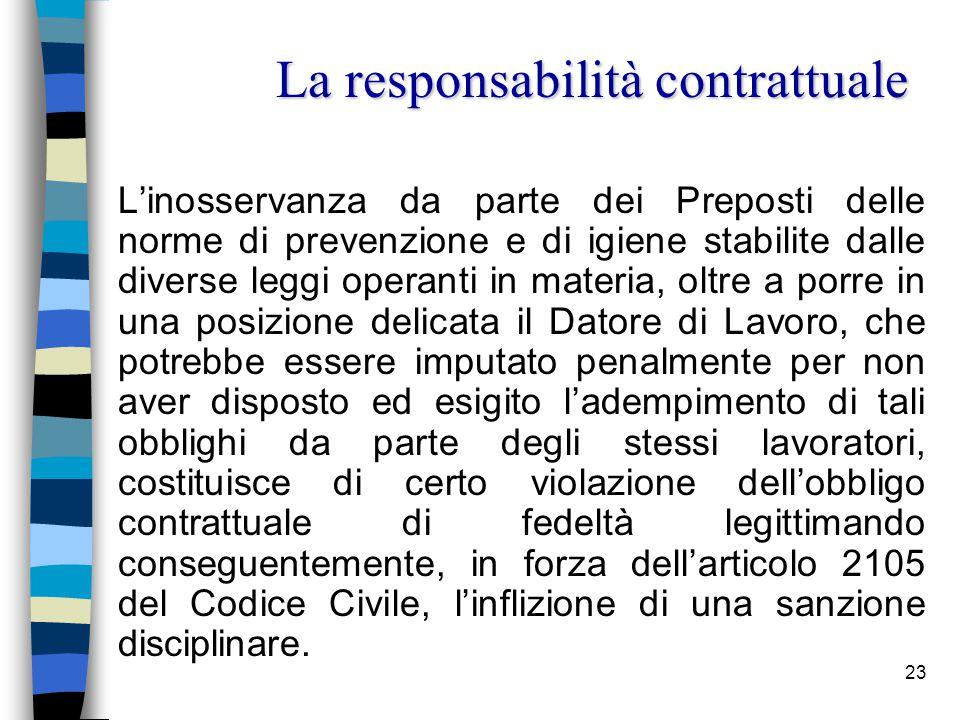 24 Le sanzioni disciplinari, il cui procedimento di applicazione è regolato dall'art.