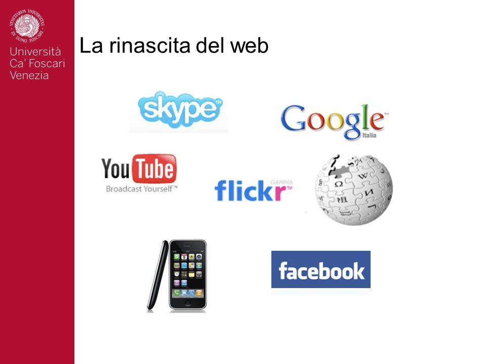 La rinascita del web