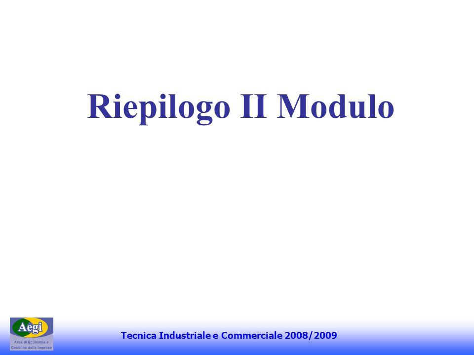 Argomenti trattati Tecnica Industriale e Commerciale 2006 - Corporate Governance - Struttura e Progettazione Organizzativa Tecnica Industriale e Commerciale 2008/09