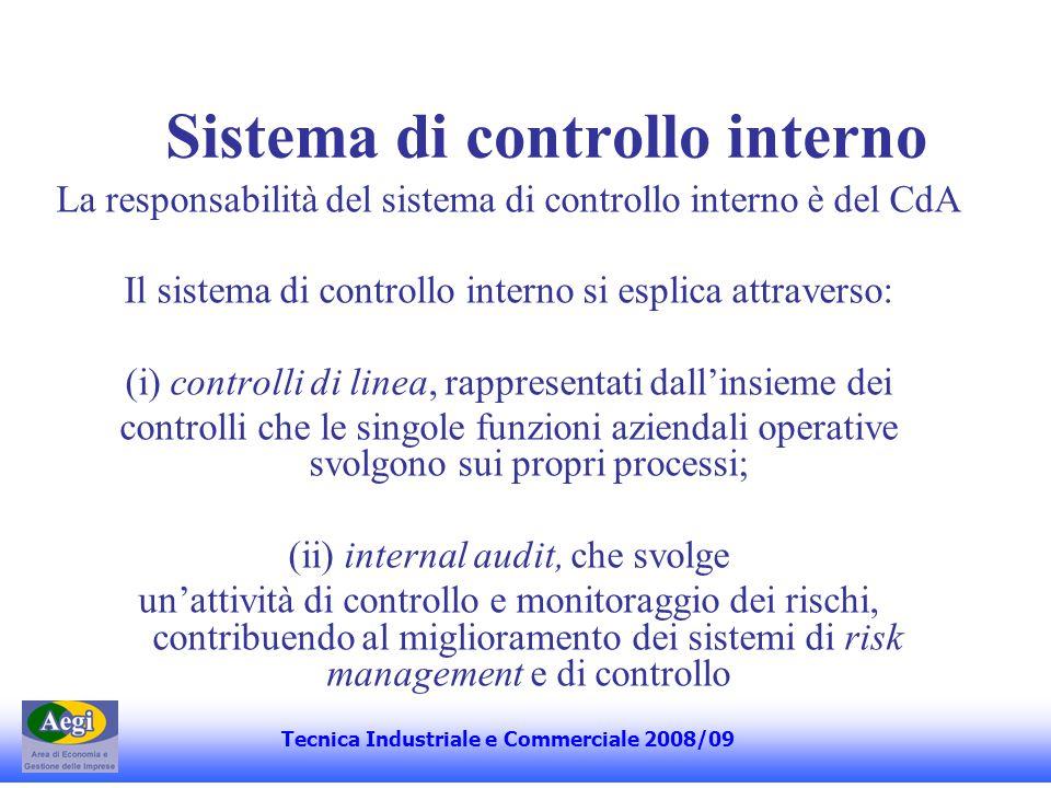 Il Comitato per il Controllo Interno (i) valuta il piano di lavoro preparato dall'a.d.