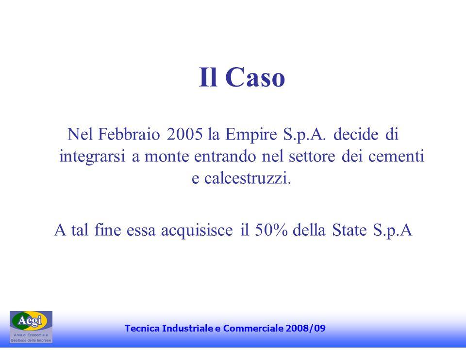 Il Caso La State S.p.A.fu fondata nel Settembre 1998 dal sig.