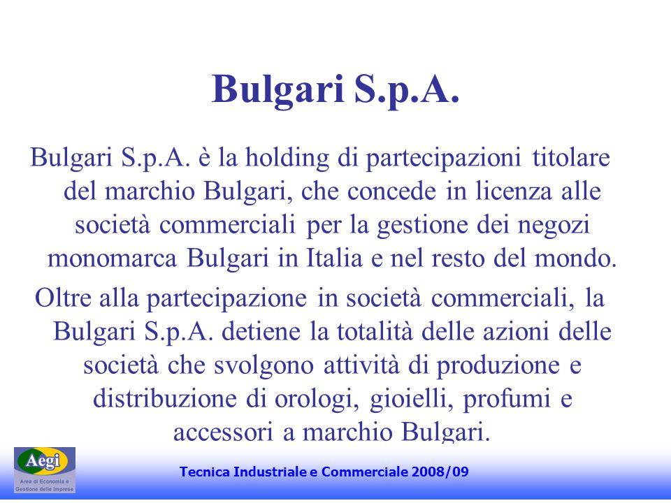 Bulgari S.p.A.(2) Bulgari S.P.A.