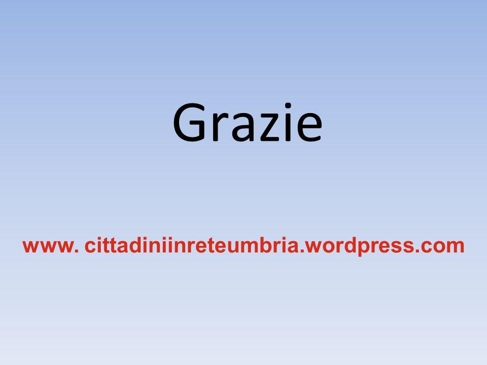 Grazie www. cittadiniinreteumbria.wordpress.com