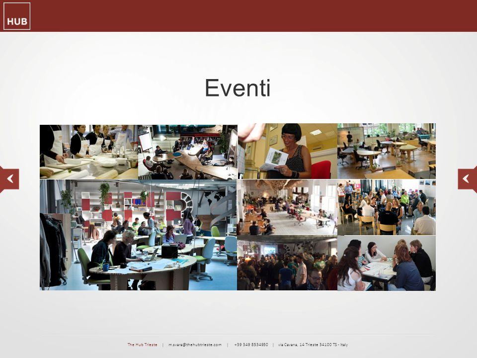 Eventi The Hub Trieste | m.svara@thehubtrieste.com | +39 349 8534930 | via Cavana, 14 Trieste 34100 TS - Italy