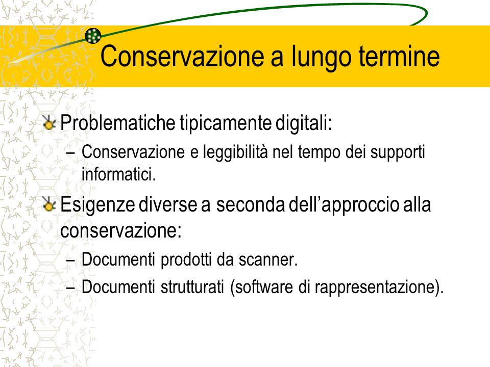 L'attività nell'Amministrazione Finanziaria SDSC ha dichiarato la disponibilità a sottoporre a test il trattamento a fini conservativi di archivi informatici prodotti da PP.AA.