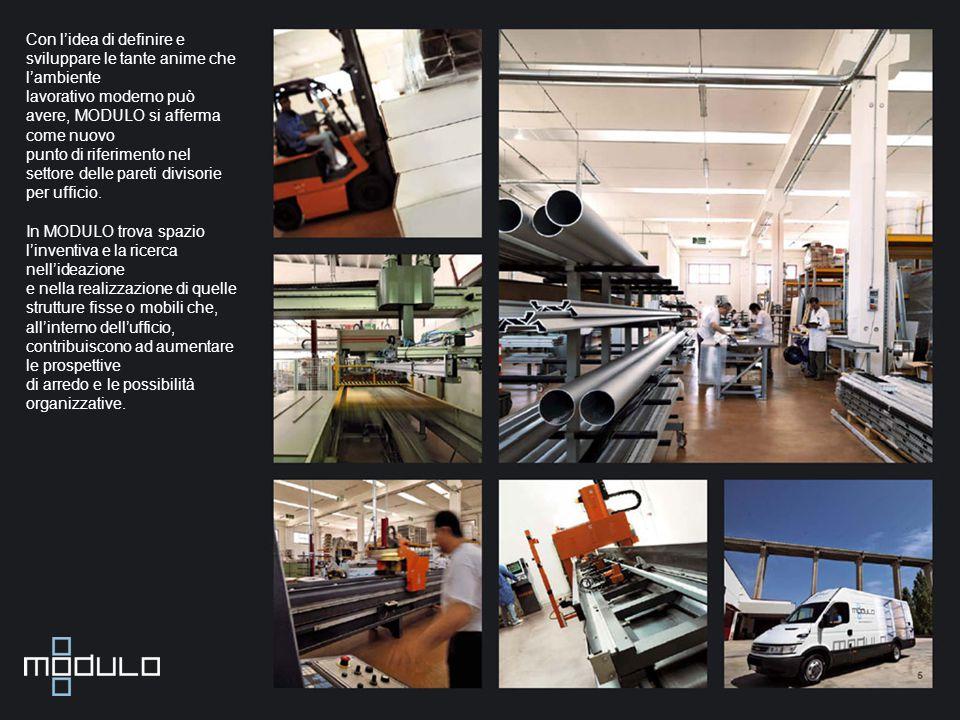Con l'idea di definire e sviluppare le tante anime che l'ambiente lavorativo moderno può avere, MODULO si afferma come nuovo punto di riferimento nel settore delle pareti divisorie per ufficio.