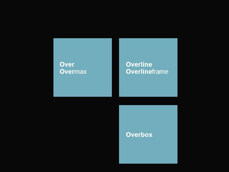 Over Overmax Overline Overlineframe Overbox