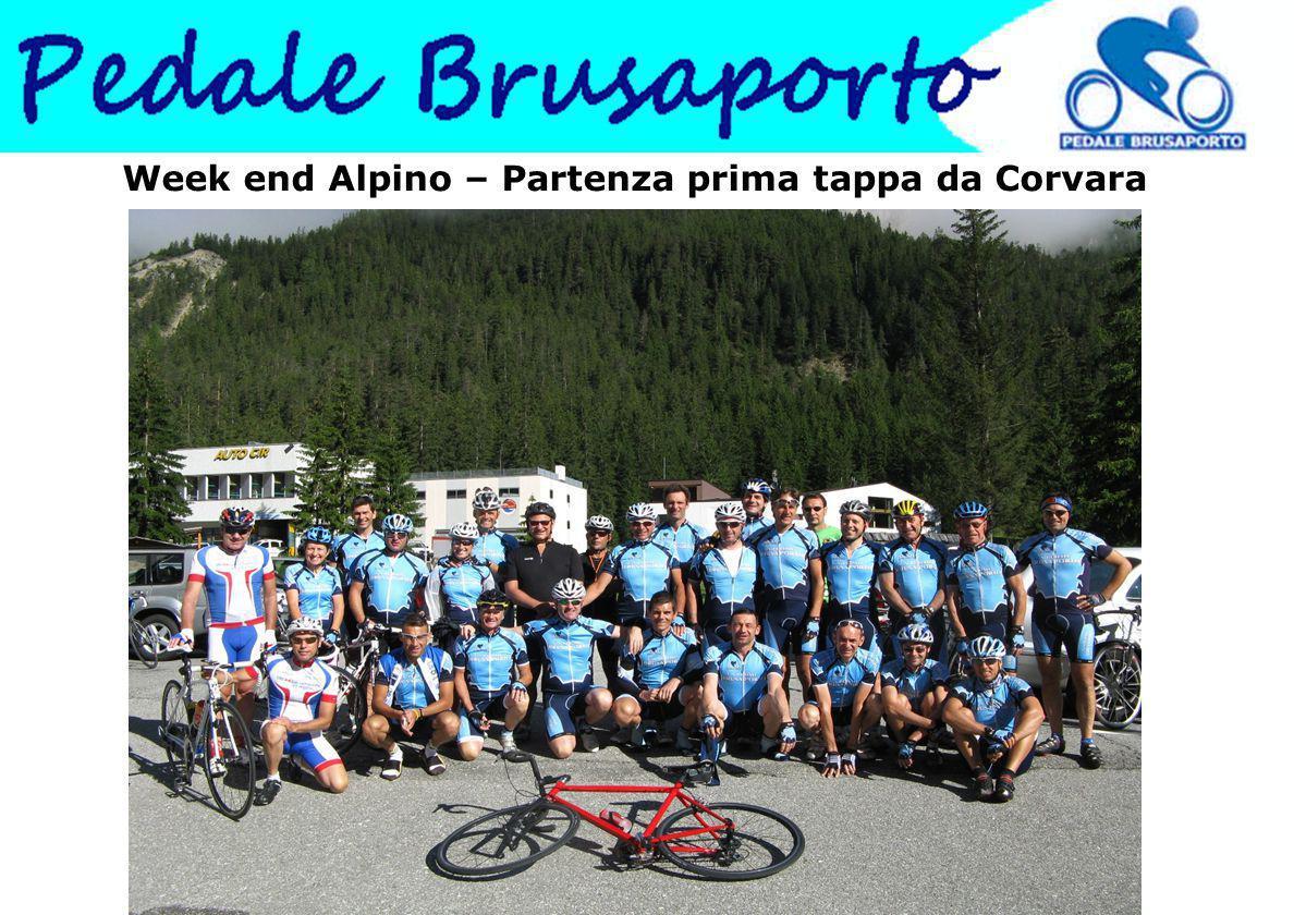 Week end Alpino – Partenza prima tappa da Corvara