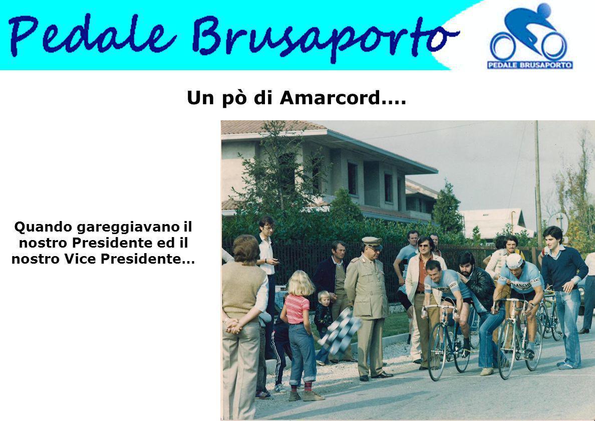 Un pò di Amarcord…. Quando gareggiavano il nostro Presidente ed il nostro Vice Presidente…