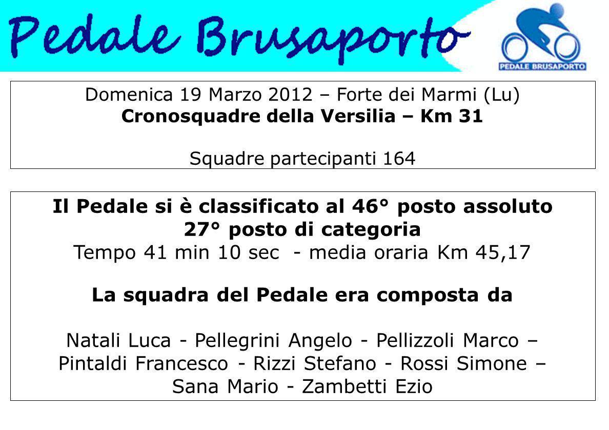 Week End primaverile a Riccione 21 – 24 Aprile Fine tappa dopo aver pedalato insieme ad Andrea Tafi.