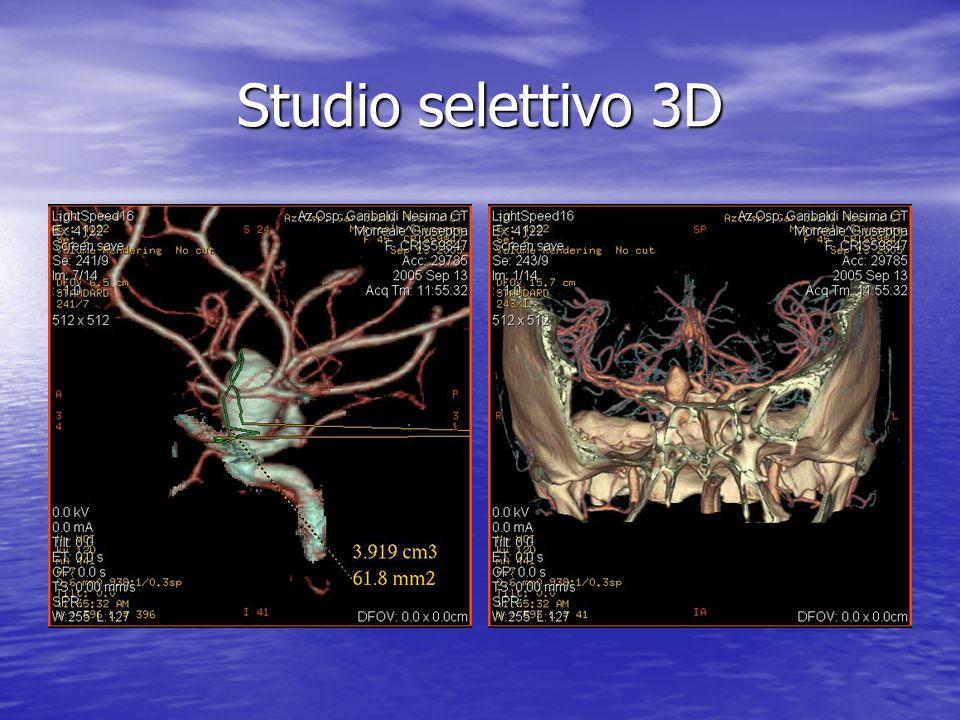 Studio selettivo 3D