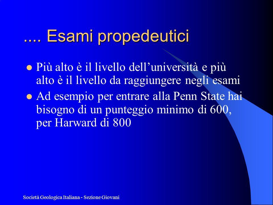 Società Geologica Italiana - Sezione Giovani....