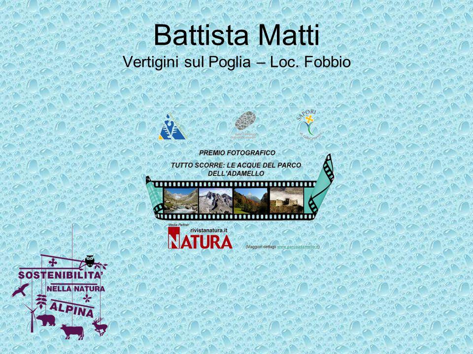 Battista Matti Vertigini sul Poglia – Loc. Fobbio