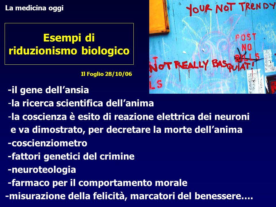 Frattura tra ontologia ed etica: una nuova etica , un'etica senza l'uomo