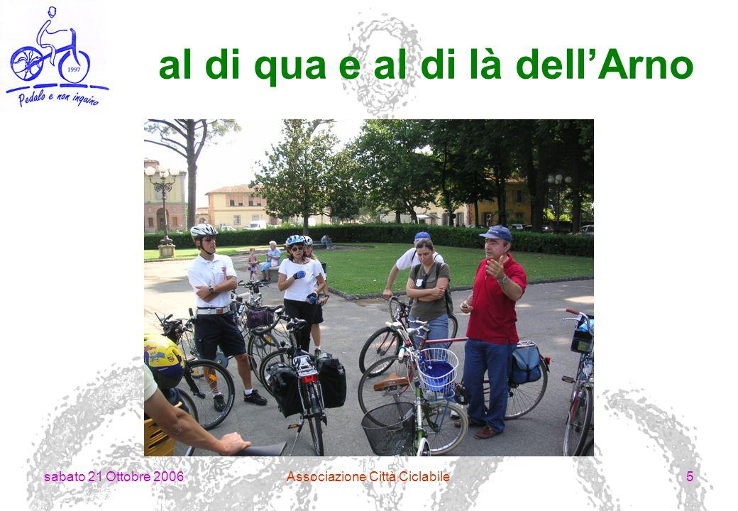 sabato 21 Ottobre 2006Associazione Città Ciclabile6 il verde alle porte della città