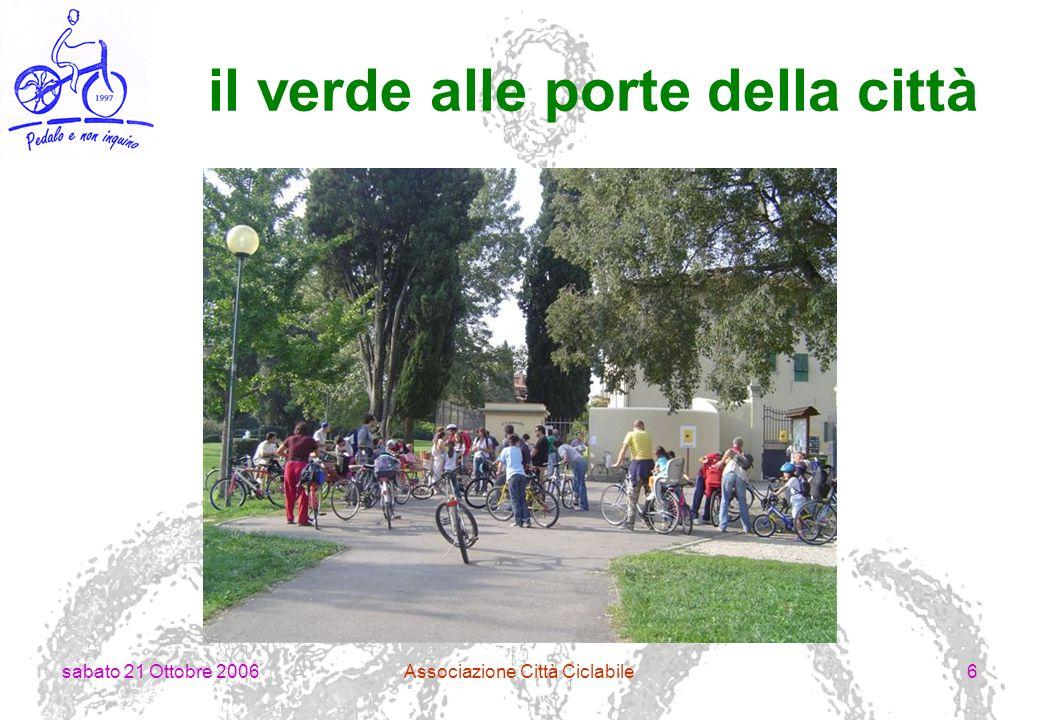 sabato 21 Ottobre 2006Associazione Città Ciclabile17 compagnia arcieri Ugo di Toscana