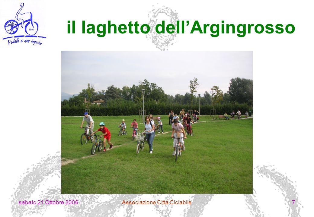 sabato 21 Ottobre 2006Associazione Città Ciclabile18 tra Mantignano e Ugnano