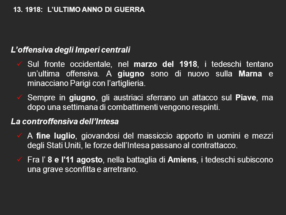 """L'Italia e la """"rotta"""" di Caporetto  Anche in Italia si diffondono allarmanti segni di stanchezza e di insofferenza tra i soldati e la popolazione civ"""