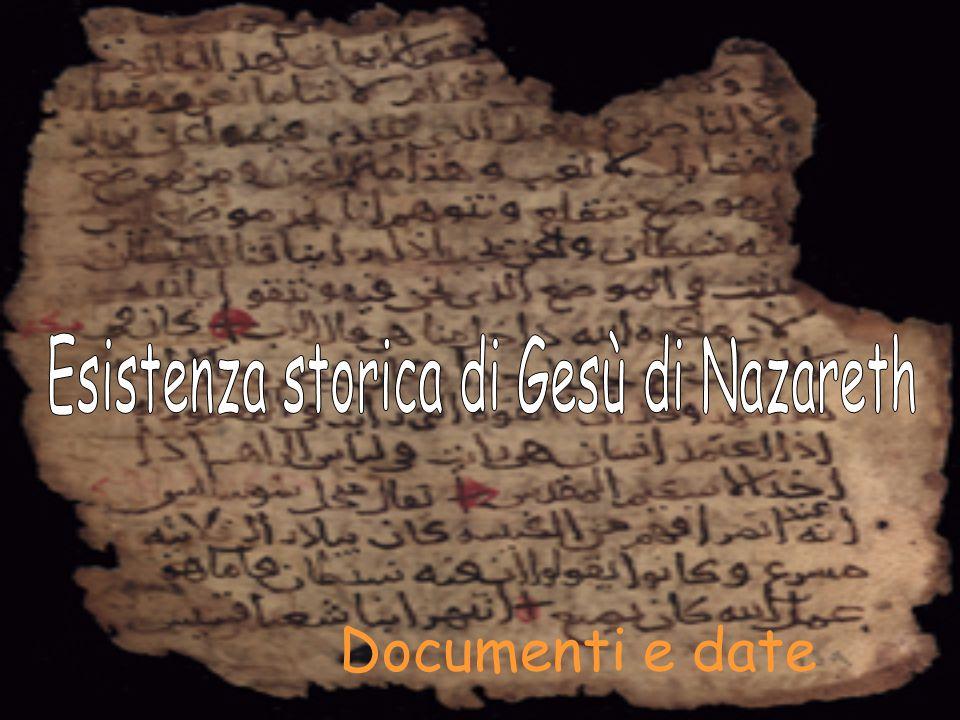 Documenti e date