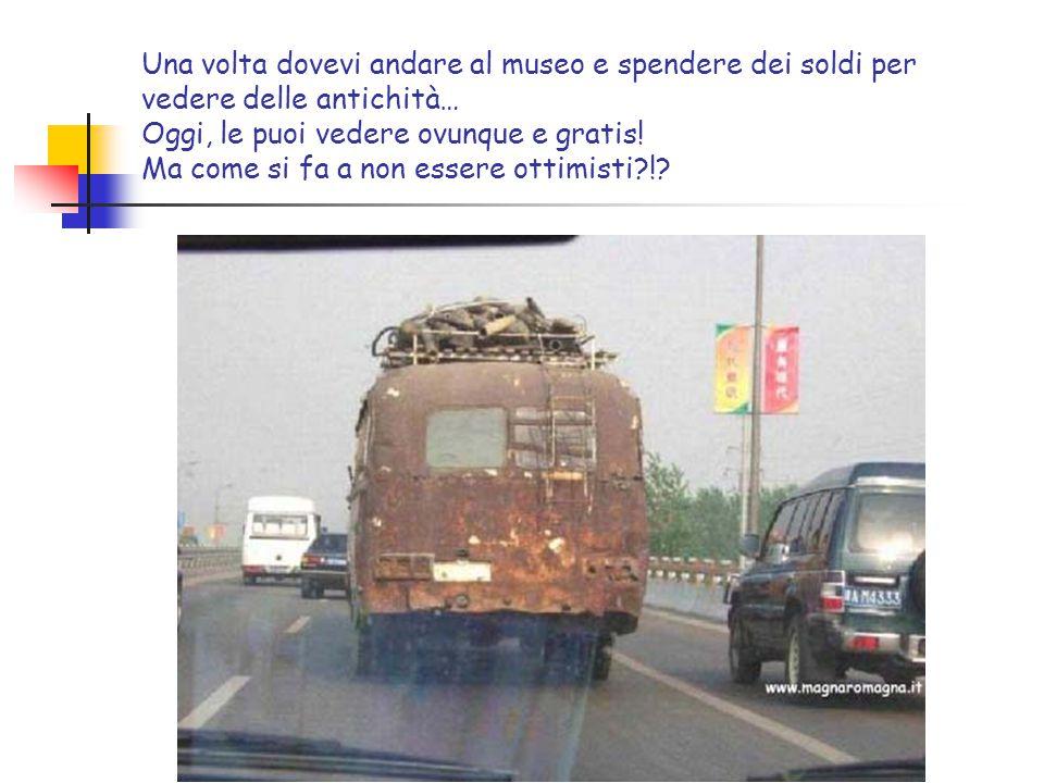 Una volta la polizia non raggiungeva i ladri… Oggi, sono i ladri che vanno dalla polizia… Ma come si fa a non essere ottimisti?!?
