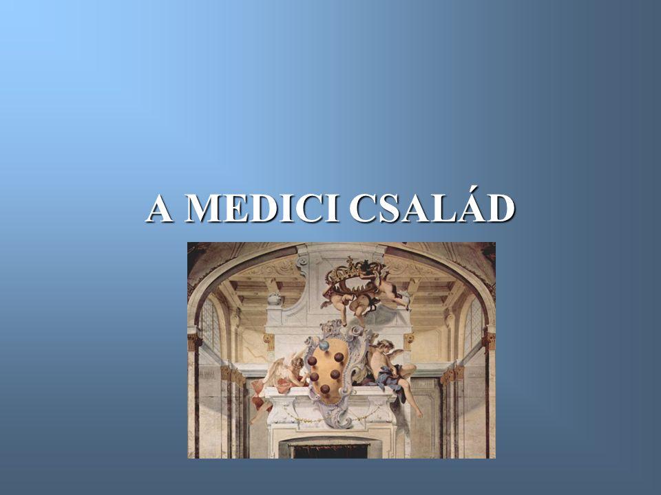 A MEDICI CSALÁD
