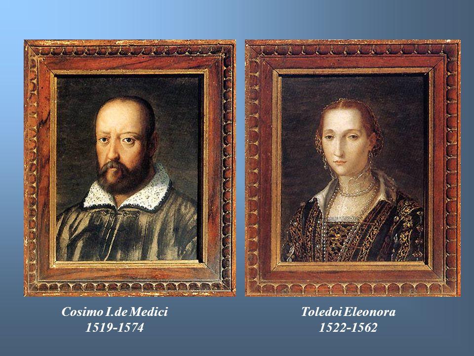 Cosimo I.de Medici 1519-1574 Toledoi Eleonora 1522-1562