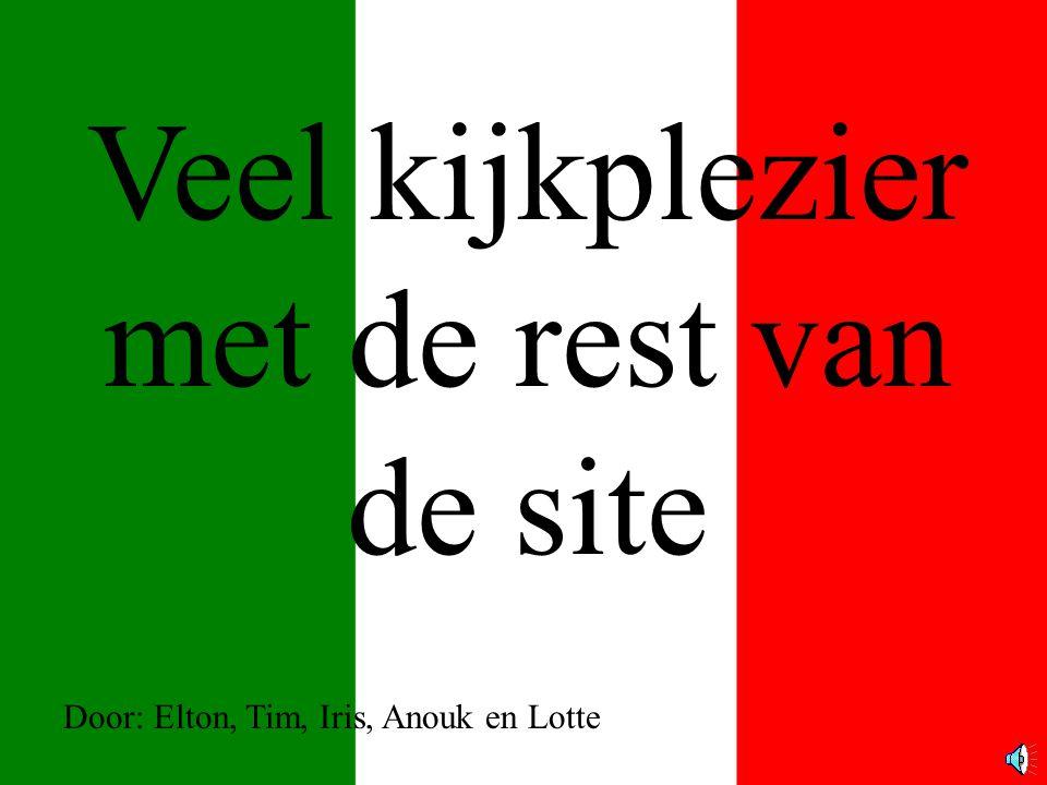Veel kijkplezier met de rest van de site Door: Elton, Tim, Iris, Anouk en Lotte